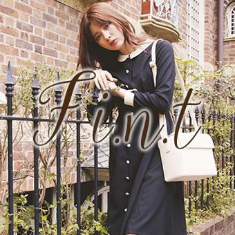 秋の最新コレクション ViVi11月号掲載 F i.n.t[フィント]
