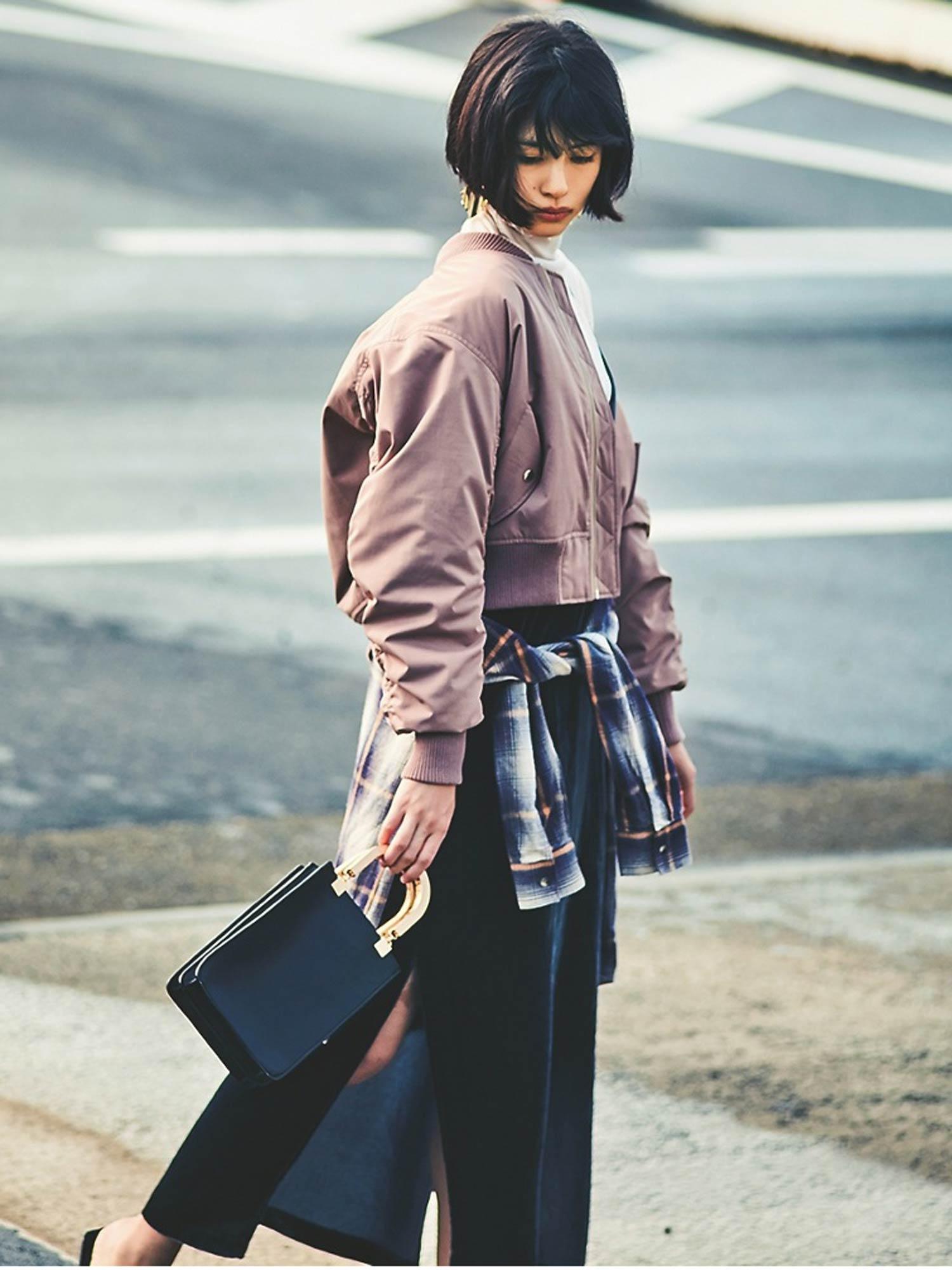 佐久間由衣×Ungrid(2017年1月号p123)